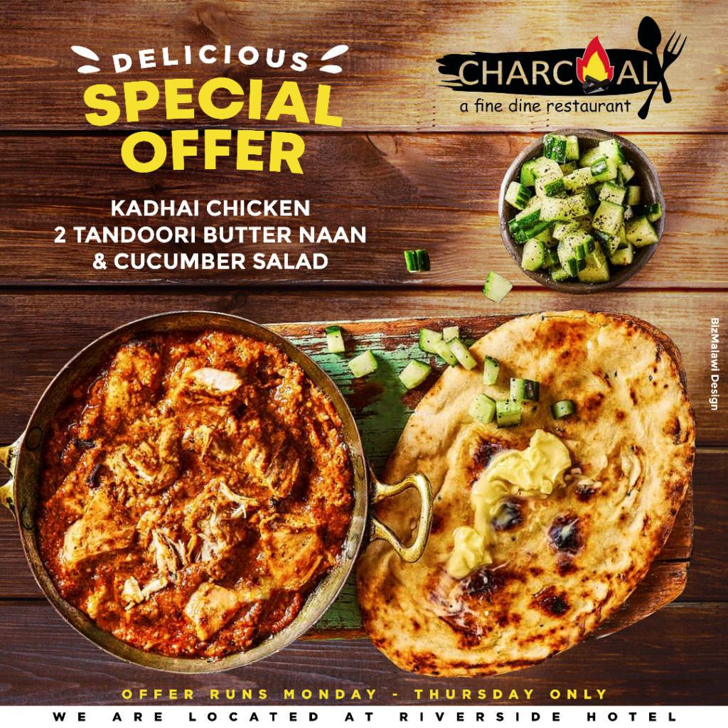 Enjoy a Kadhai Chicken with 2 Tandoori B...