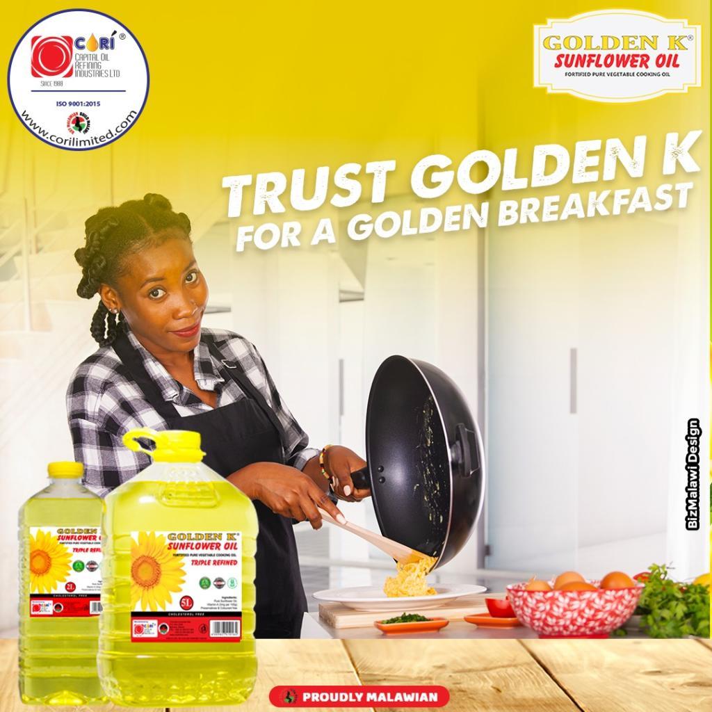A champion's breakfast has Golden K as t...